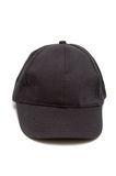Blank black hat Stock Image