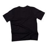 Blank black t-shirt Stock Photo