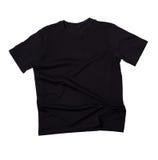 Blank black t-shirt Stock Photo