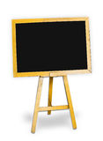 Blank blackboard. On white background Stock Photos