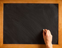 Blank blackboard Royalty Free Stock Image