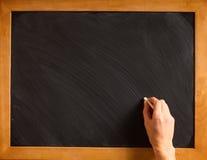 Blank blackboard Royalty Free Stock Image