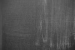 Blank blackboard. Cleared blackboard with some stripes Stock Image