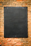 Blank blackboard Stock Photo