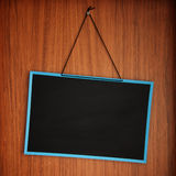 Blank Blackboard Stock Photography