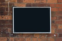 Blank Blackboard Royalty Free Stock Images