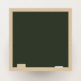 Blank blackboard with chalk and eraser, Vector Royalty Free Stock Image