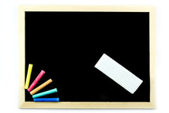Blank blackboard Royalty Free Stock Photography