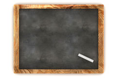 Blank Blackboard. A Colourful 3d Rendered Blank Blackboard illustration Royalty Free Stock Photos
