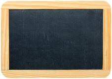 Blank blackboard with copy space Stock Photos
