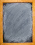 Blank Blackboard with copyspace Stock Image