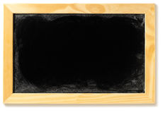 Blank blackboard in a frame Royalty Free Stock Photos