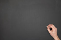 A blank blackboard Royalty Free Stock Photos