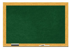 Blank Blackboard - Isolated Royalty Free Stock Image
