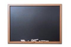 Blank Blackboard Isolated Stock Image