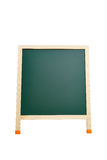 Blank blackboard isolated on white with clipping paths Royalty Free Stock Photography