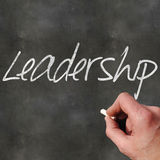 Blank Blackboard Leadership Royalty Free Stock Images