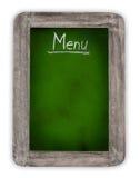 Blank blackboard, daily menu Stock Photography