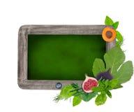 Blank blackboard, daily menu Royalty Free Stock Images