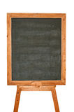 Blank blackboard menu. On a white background Royalty Free Stock Images