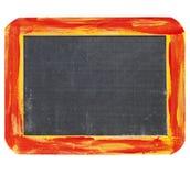 Blank blackboard sign stock photography