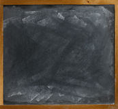 Blank blackboard  straight on Stock Photography