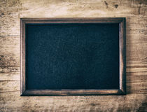 Blank blackboard Royalty Free Stock Photography