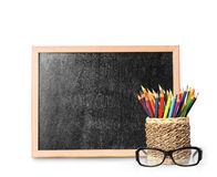 Blank blackboard wooden Royalty Free Stock Photo