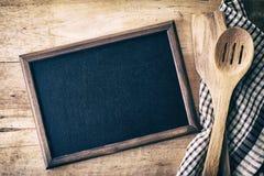 Blank blackboard Stock Image