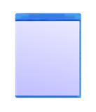 Blank Blu-ray Box Isolated Royalty Free Stock Images
