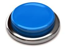 Blank blue button Royalty Free Stock Photos