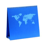 Blank blue calendar Royalty Free Stock Photography