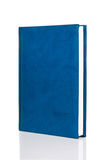 Blank blue hardback book Stock Photos