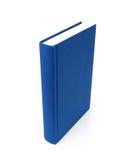 Blank blue hardback book Royalty Free Stock Photos