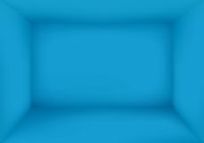 Blank Blue Room Background Vector Royalty Free Stock Photo