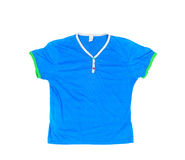 Blank blue t-shirt Royalty Free Stock Photos