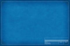 Blank blueprint Stock Photo