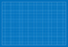 Blank Blueprint, Grid, Architecture Royalty Free Stock Image