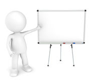 Blank Board. Royalty Free Stock Image