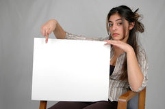Blank board-8 Royalty Free Stock Images