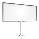 Blank board for advertisement, with clipping path Royalty Free Stock Image