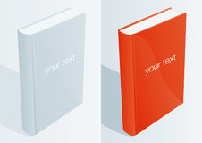 Blank Book 1. Vector Drawing Royalty Free Stock Image