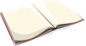 Blank book. Vector illustration of a blank book vector illustration