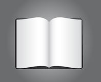 Blank book Royalty Free Stock Photos