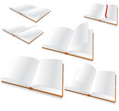 Blank book vector illustration