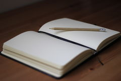 Blank book Royalty Free Stock Photography