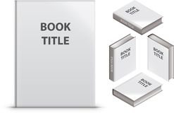 Blank book Stock Image