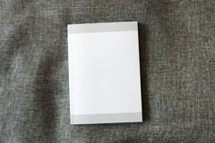 Blank book cover Stock Image
