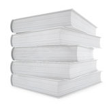 Blank book cover Stock Photography