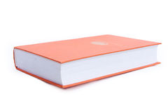 Blank book cover orange Stock Photography